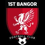1st Bangor FC club logo
