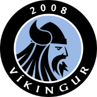 Víkingur-3 club logo