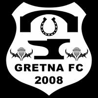 Logo of Gretna FC 2008