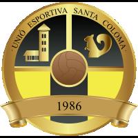 UE S. Coloma B club logo