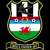 Risca United AFC club logo