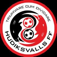 Hudiksvalls FF club logo