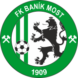 Baník Most club logo